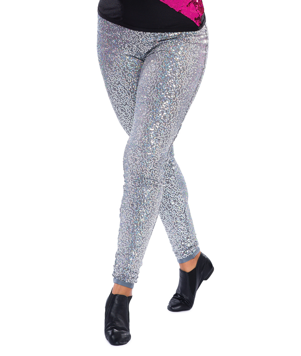 SEQUIN HIGH WAIST LEGGING