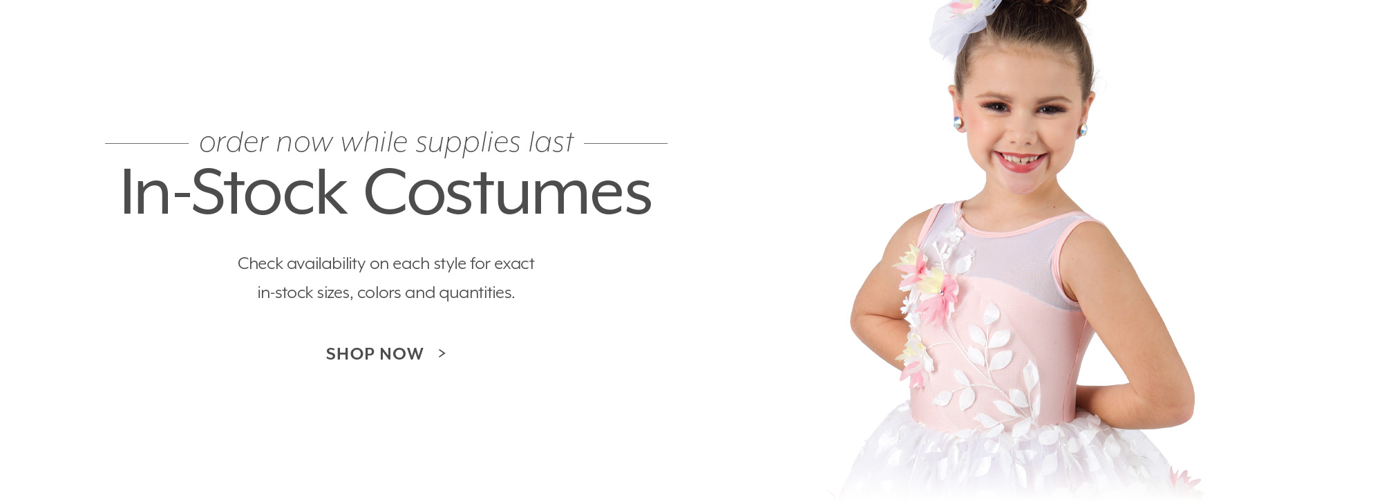 Shop in-stock dance costumes!