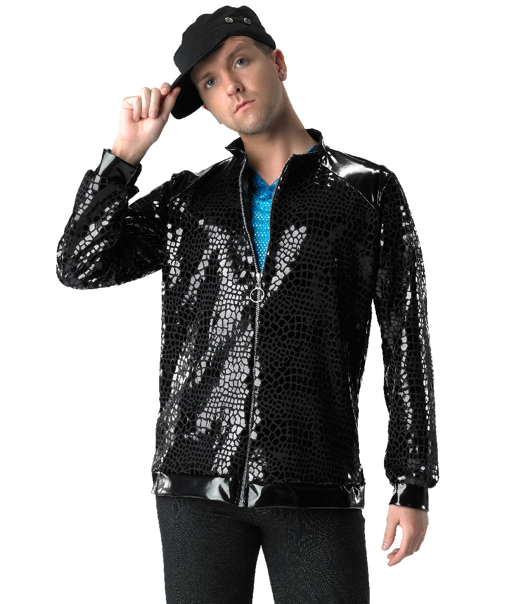 NOVELTY VINYL GUY JACKET