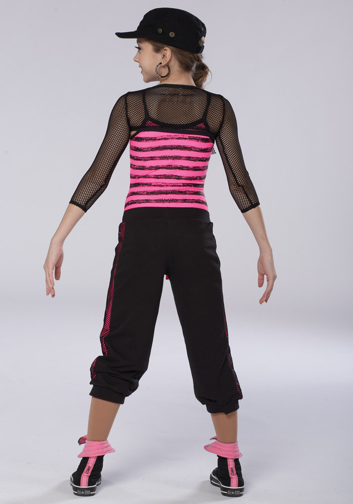 PUMP IT UP CROP PANTS
