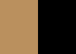 00 Tan/Black