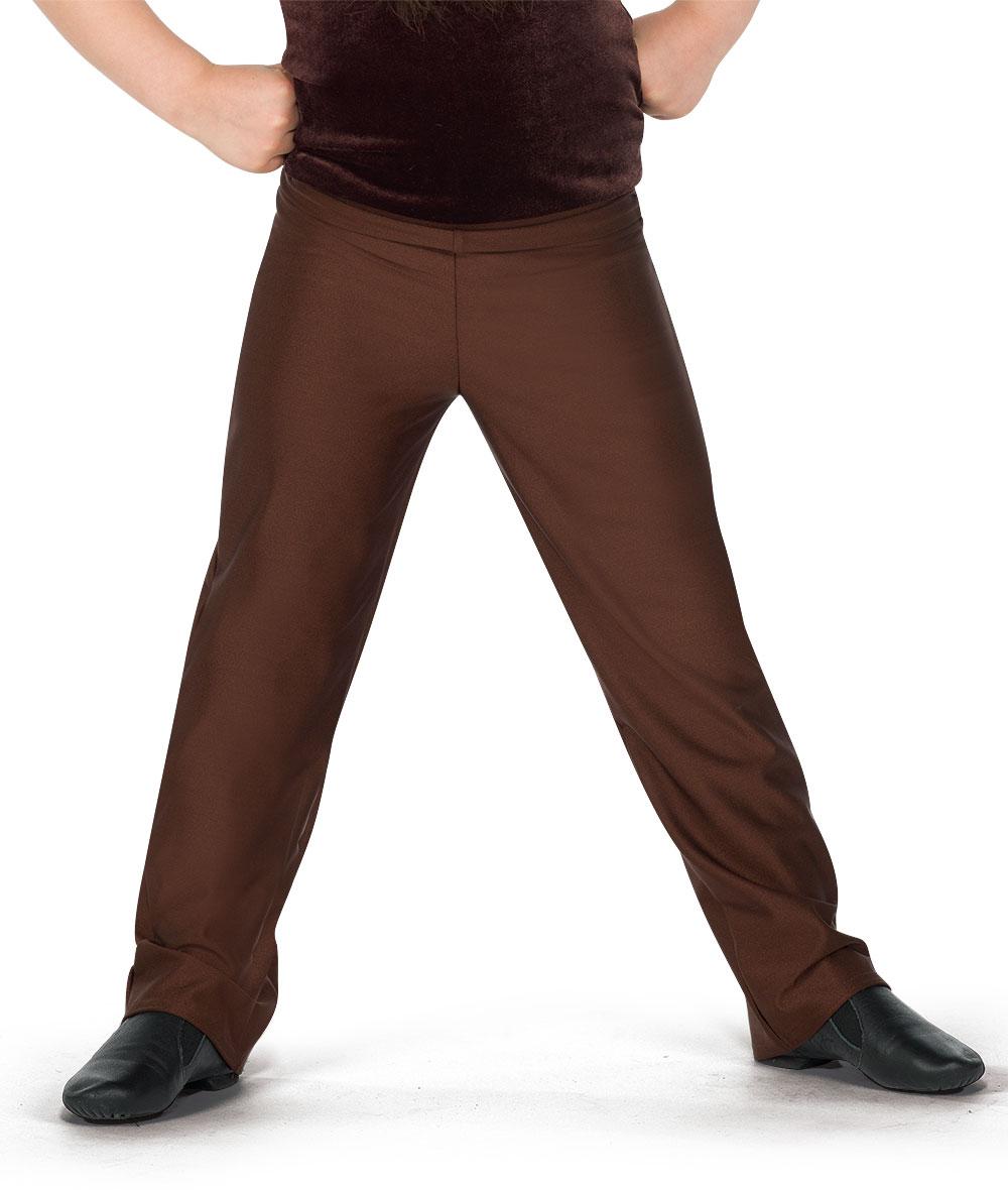 GUY'S PLAIN FRONT PANTS