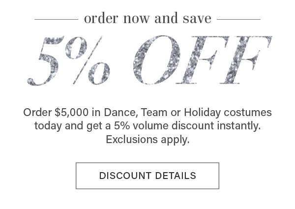 Save on dance costumes only at A Wish Come True!