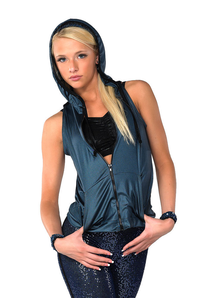 BY MY SIDE HOODED VEST