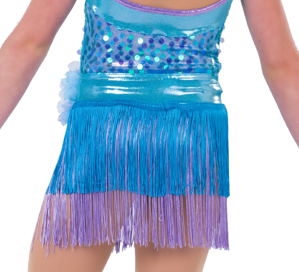 SMILE BIG FRINGE SKIRT