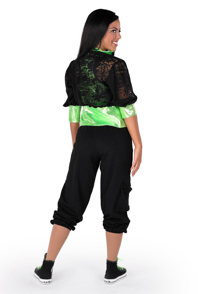 GIMME THAT FUNK CROP PANT