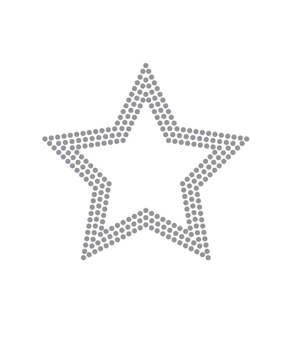 OUTLINE STAR: SPARKLE DOT
