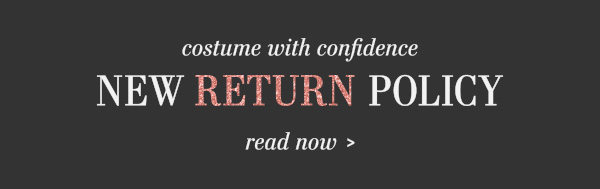 Read our new return policy!