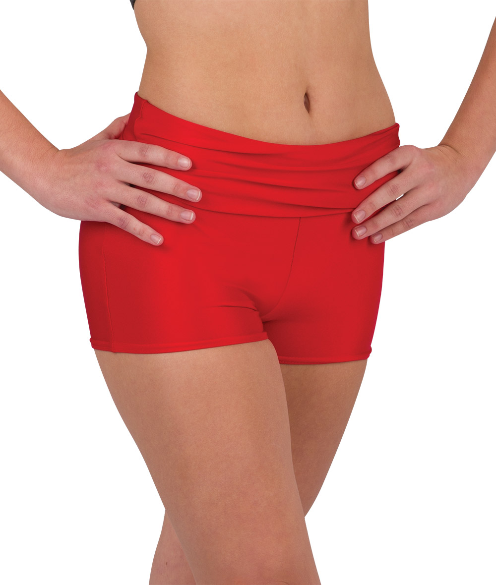 FOLDOVER HOT PANTS
