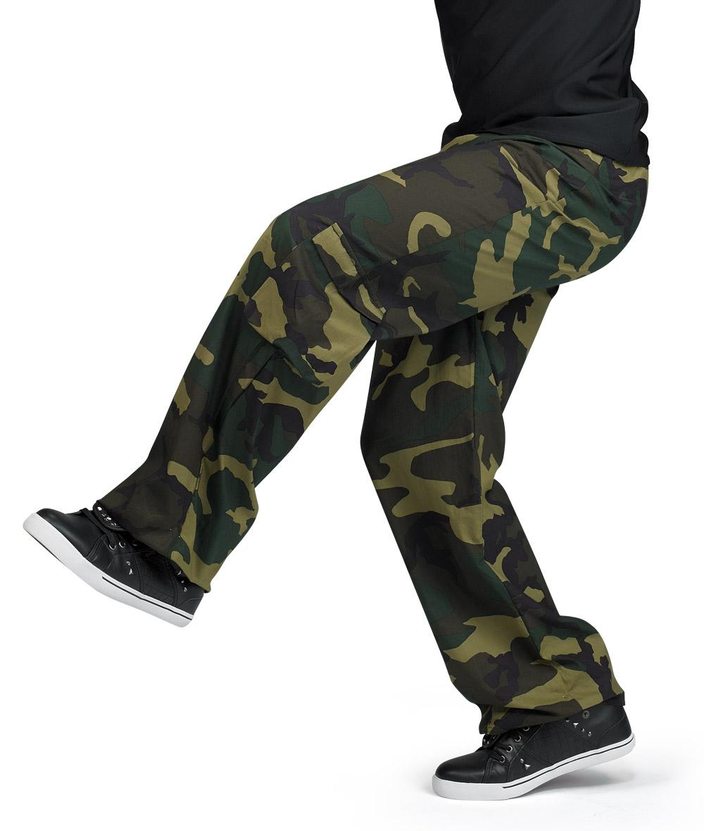 CAMOUFLAGE GUY PANTS