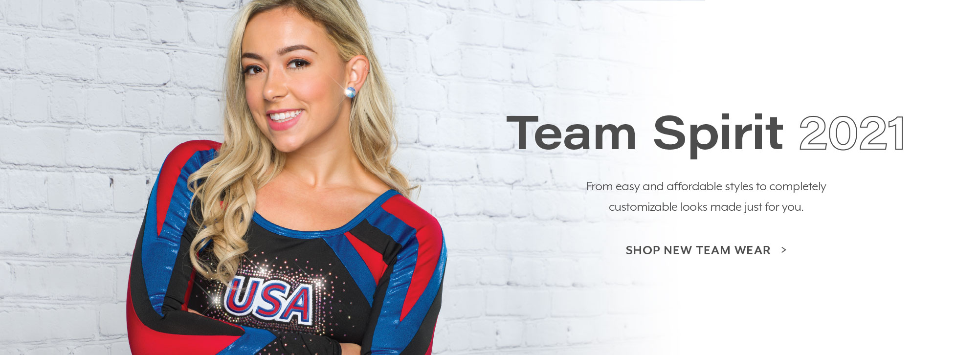 Shop our new Team Spirit collection!