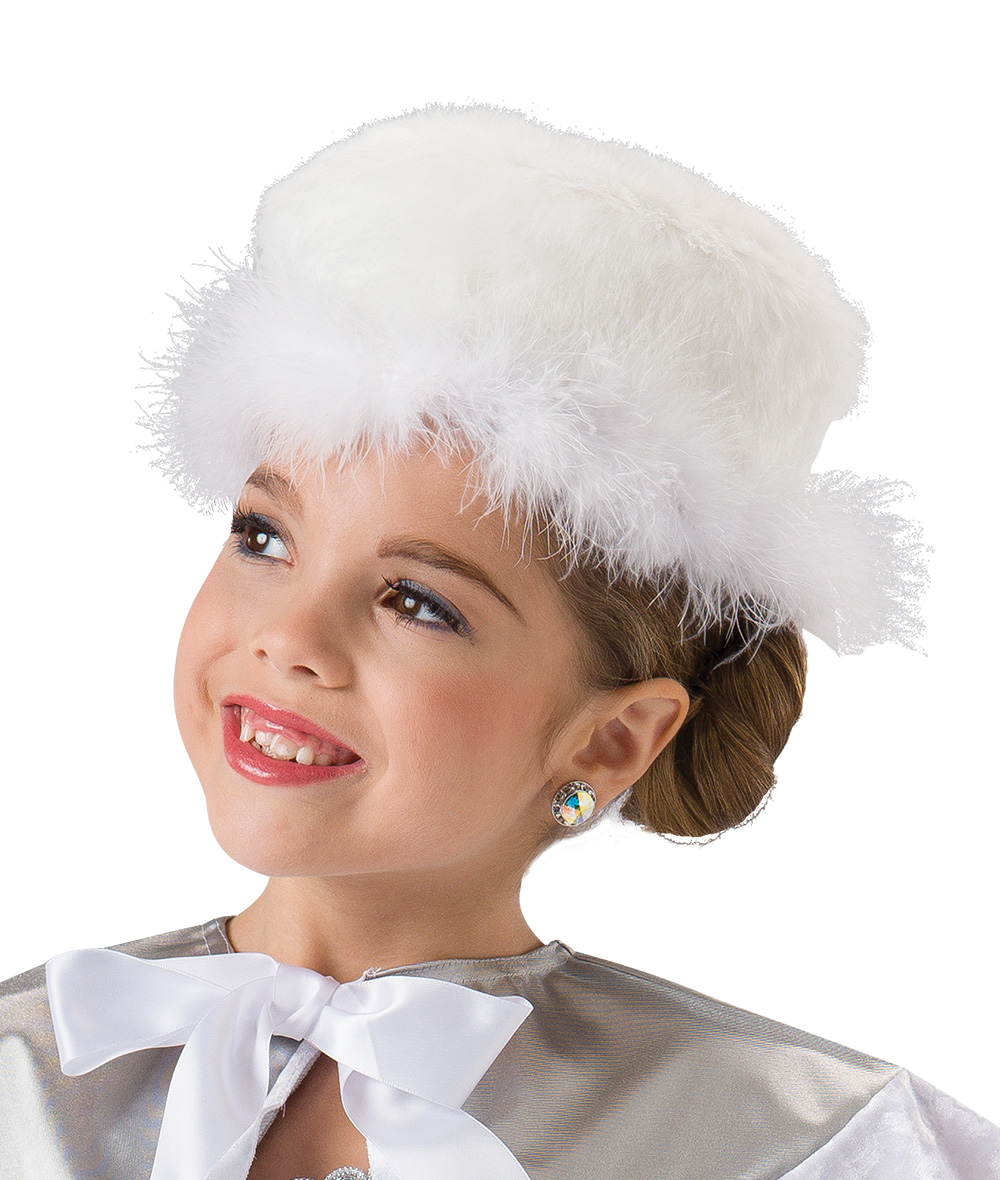 MARABOU TRIM HAT