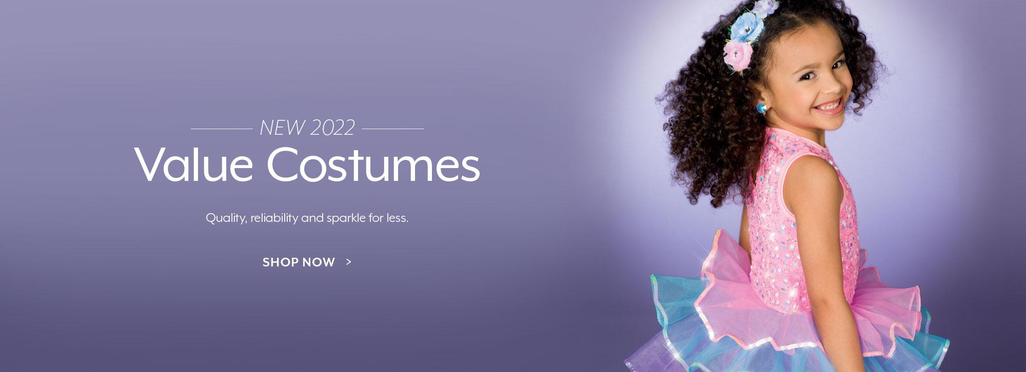 Shop new value dance costumes!