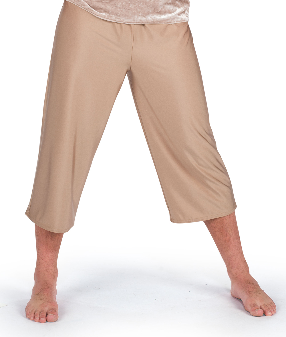 GUYS SPANDEX CROP PANTS