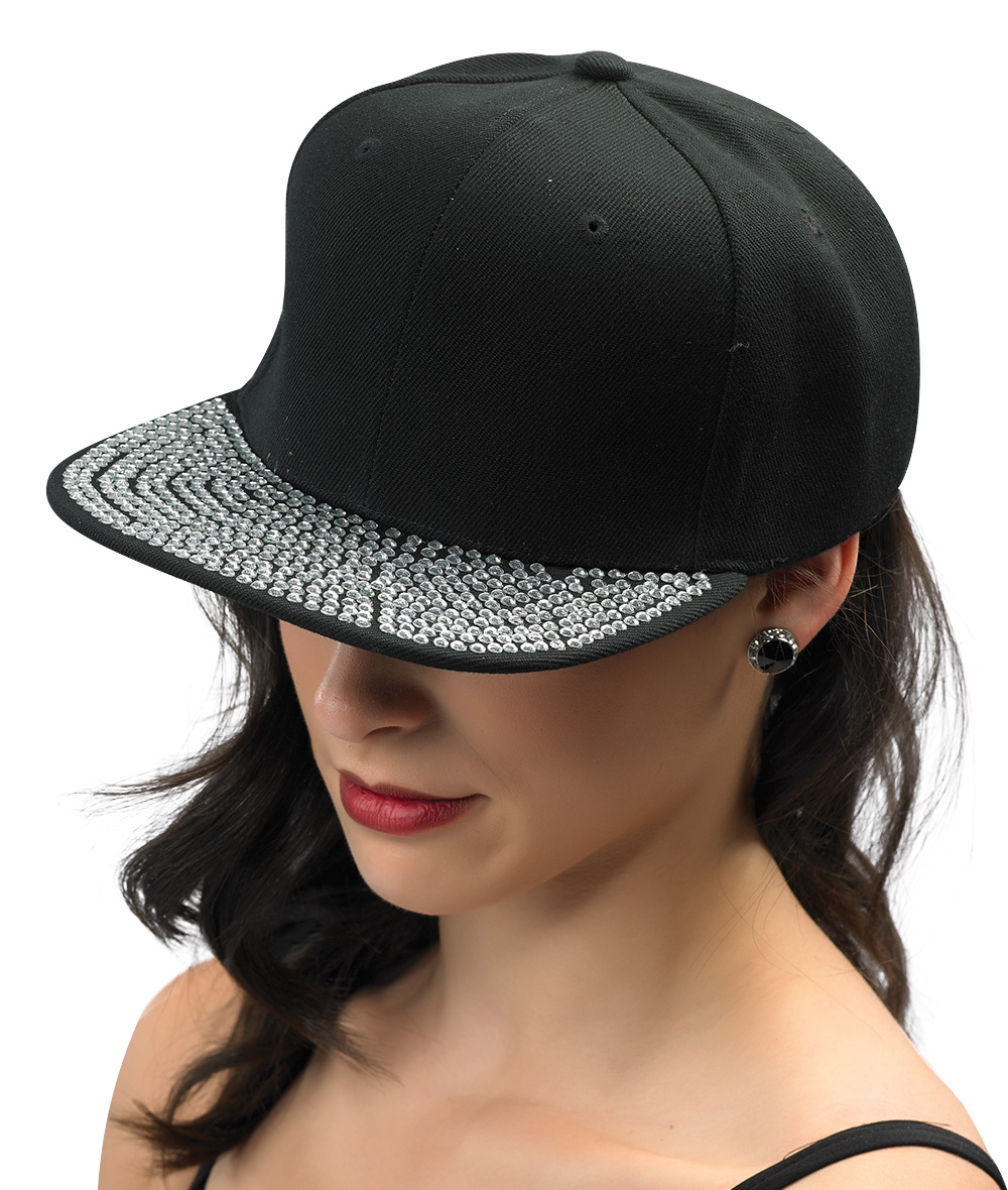 CRYSTAL BRIM CAP