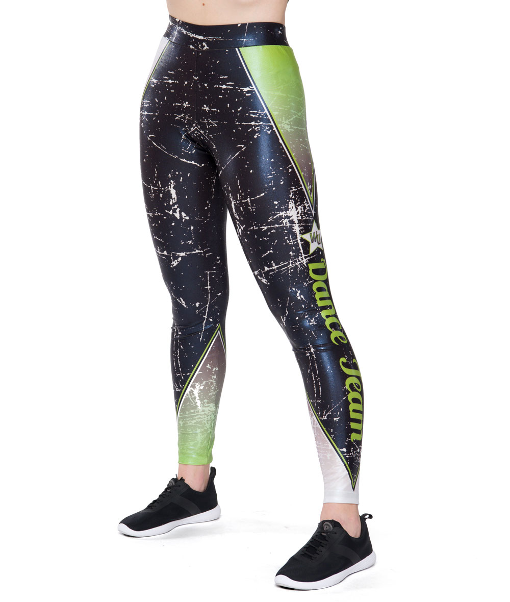AMBITION FOIL LEGGINGS