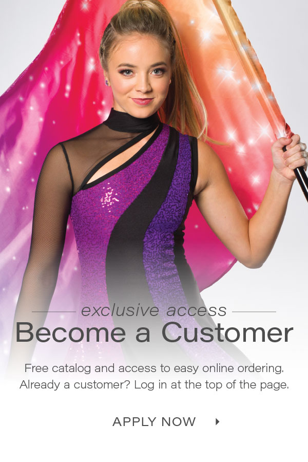 Apply now to become a customer!