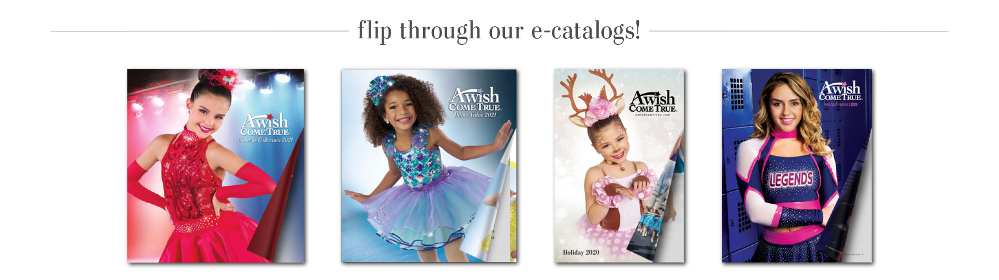 Flip through our e-catalogs!