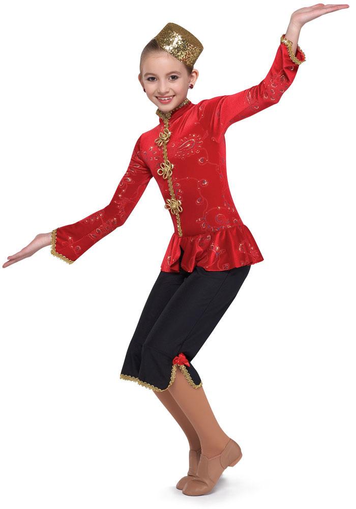 CHINESE DANCE CROP PANTS