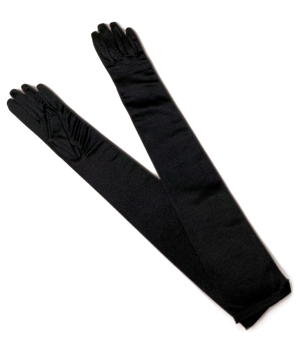 OVER ELBOW LYCRA GLOVES